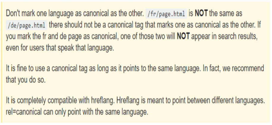 Canonicalizing Different Languages