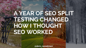 19 Lessons Learned From a Year of SEO Split Testing