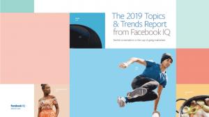 2019 Topics Facebook