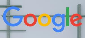 Google on White Background